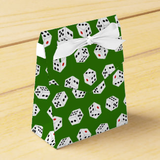 Fun Gambling Casino dice pattern box