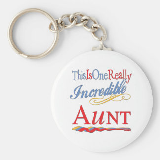 Fun Gifts For Aunts Basic Round Button Key Ring