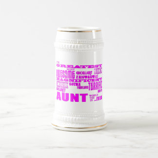Fun Gifts for Aunts : Greatest Aunt Beer Stein