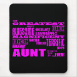 Fun Gifts for Aunts : Greatest Aunt Mouse Pad