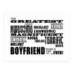 Fun Gifts for Boyfriends : Greatest Boyfriend Postcards