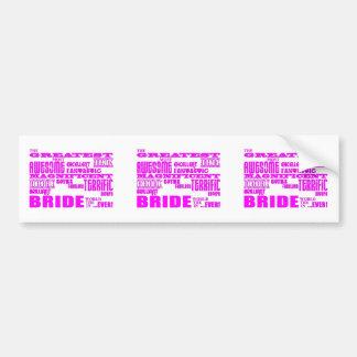 Fun Gifts for Brides Greatest Bride Bumper Sticker