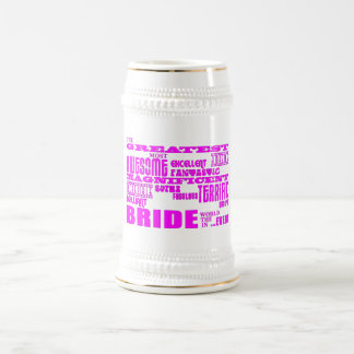 Fun Gifts for Brides Greatest Bride Coffee Mugs