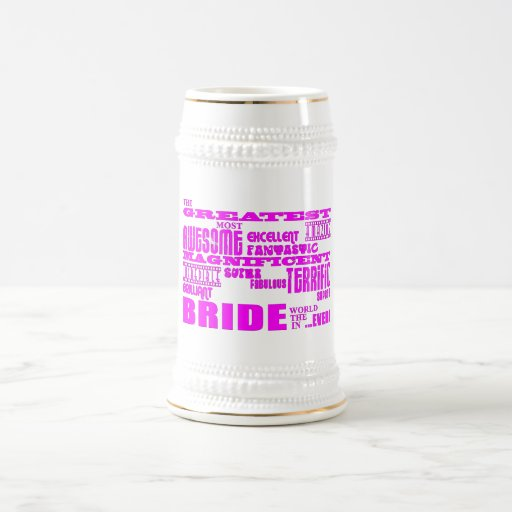 Fun Gifts for Brides : Greatest Bride Coffee Mugs