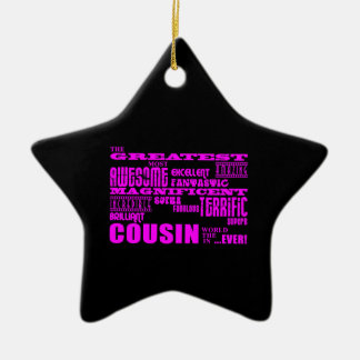 Fun Gifts for Cousins : Greatest Cousin Christmas Ornament
