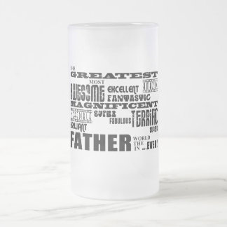 Fun Gifts for Dads Greatest Father Coffee Mugs