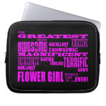 Fun Gifts for Flower Girls : Greatest Flower Girl Laptop Computer Sleeves