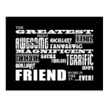 Fun Gifts for Friends : Greatest Friend Postcard