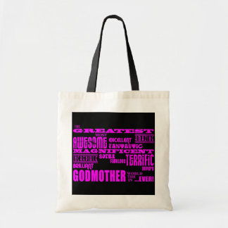 Fun Gifts for Godmothers : Greatest Godmother Budget Tote Bag