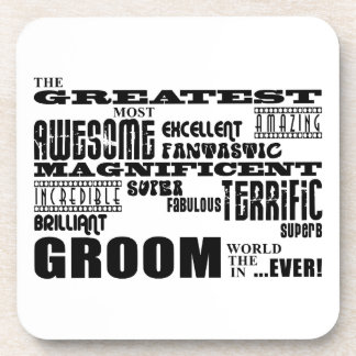 Fun Gifts for Grooms : Greatest Groom Coaster