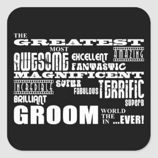 Fun Gifts for Grooms : Greatest Groom Stickers