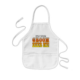 Fun Gifts for Grooms I m the Groom - Beer Me Aprons
