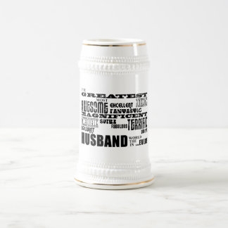 Fun Gifts for Husbands : Greatest Husband Beer Steins