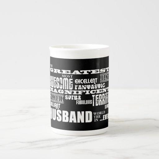 Fun Gifts for Husbands : Greatest Husband Porcelain Mug