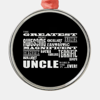 Fun Gifts for Uncles : Greatest Uncle Christmas Ornament