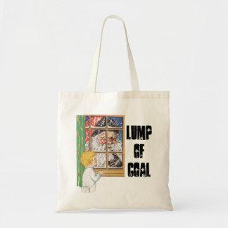 Fun GiftTote Bag Design Antique Santa Lump of Coal