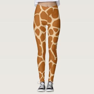 Fun Giraffe Pattern Leggings/Tight Leggings