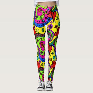 Fun & Girly Abstract Leggings