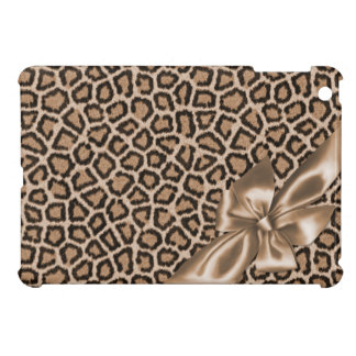 Fun Girly Brown Leopard iPad Mini Covers
