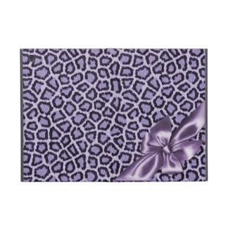 Fun Girly Purple Leopard Print Cover For iPad Mini