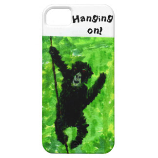 Fun Gorilla Monkey Art Barely There iPhone 5 Case
