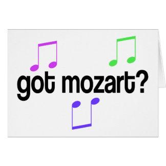 Fun Got Mozart Music Gift Greeting Card