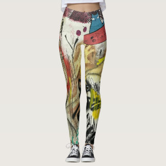Fun Graffiti Leggings