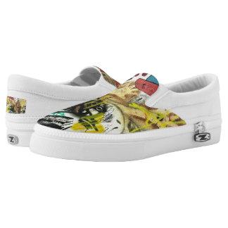 Fun Graffiti Shoes Printed Shoes