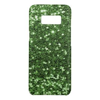 Fun Green Faux Glitter Photo Print Case-Mate Samsung Galaxy S8 Case