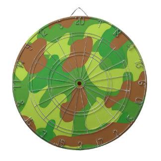 Fun Green Mix Camo Dartboard