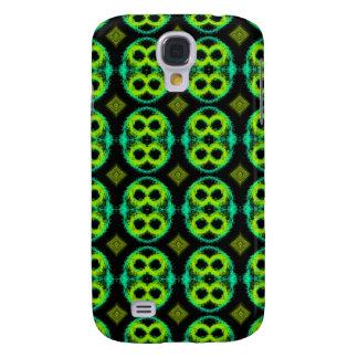 Fun Green Plaid Galaxy S4 Case
