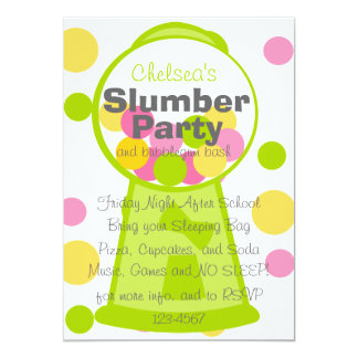 Fun Gumball Machine Card