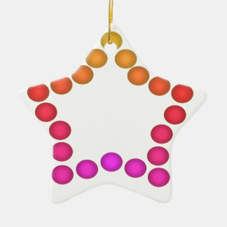 Fun Gumdrop Ornament Party Decoration Star 1