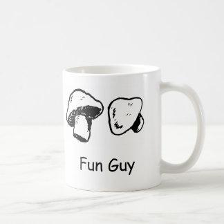 Fun Guy, Fungi Basic White Mug