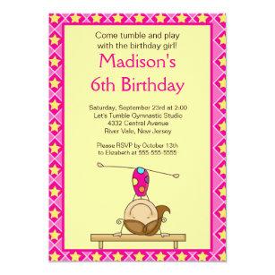 Girls 13th Birthday Party Invitations