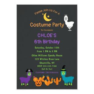 Fun Halloween Birthday Party Invitation