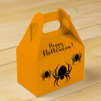 Fun Halloween Spiders Favour Box