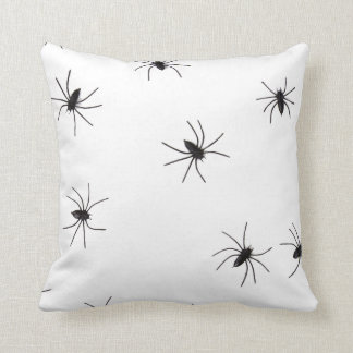 Fun Happy Halloween Spider Cushion