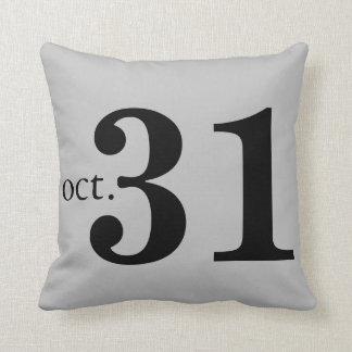 Fun Happy Halloween Throw Pillow