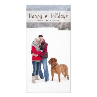 FUN HAPPY HOLIDAYS | HOLIDAY PHOTO CARD