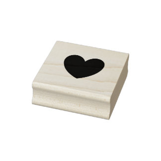 Fun Heart Ink Stamp