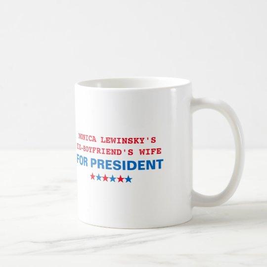 Fun Hillary Clinton Monica Lewinsky Tea Coffee Mug