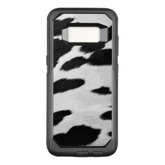 Fun Holstein Cow Hide Look OtterBox Commuter Samsung Galaxy S8 Case