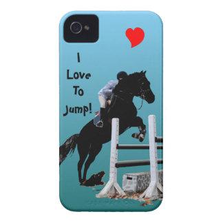 Fun Horse Jumper iPhone 4 Case