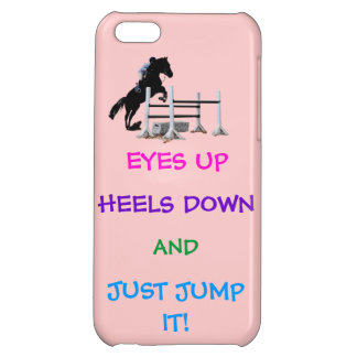 Fun Hunter/Jumper Equestrian iPhone 5C Cases