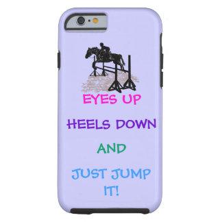 Fun Hunter/Jumper Equestrian Tough iPhone 6 Case