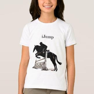 Fun iJump Horse Jumper Girls Tshirt
