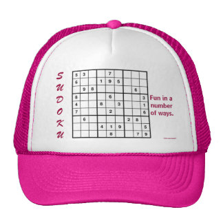 Fun In A Number Of Ways Trucker Hats