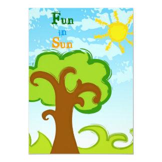 Fun in Sun Invitation