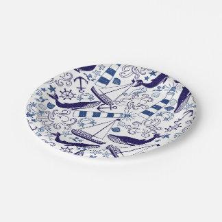 Fun in the Sea Paper Plate